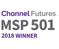 Top Managed Service Provider 2018 - Channel Future MSP501