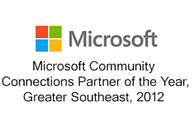 PTG,one of the leading cybersecurity companies in Greenville, SC receives the Microsoft Community 2012 award